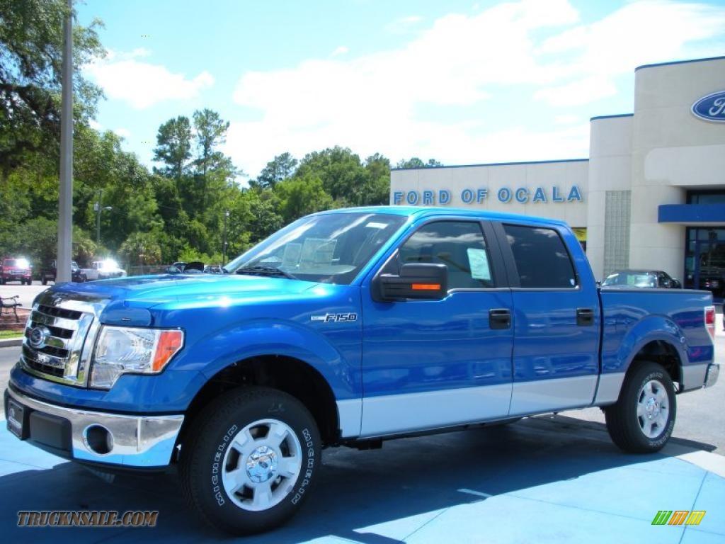 2010 Ford F150 Xlt Supercrew 2010 F150 Xlt Supercrew Blue