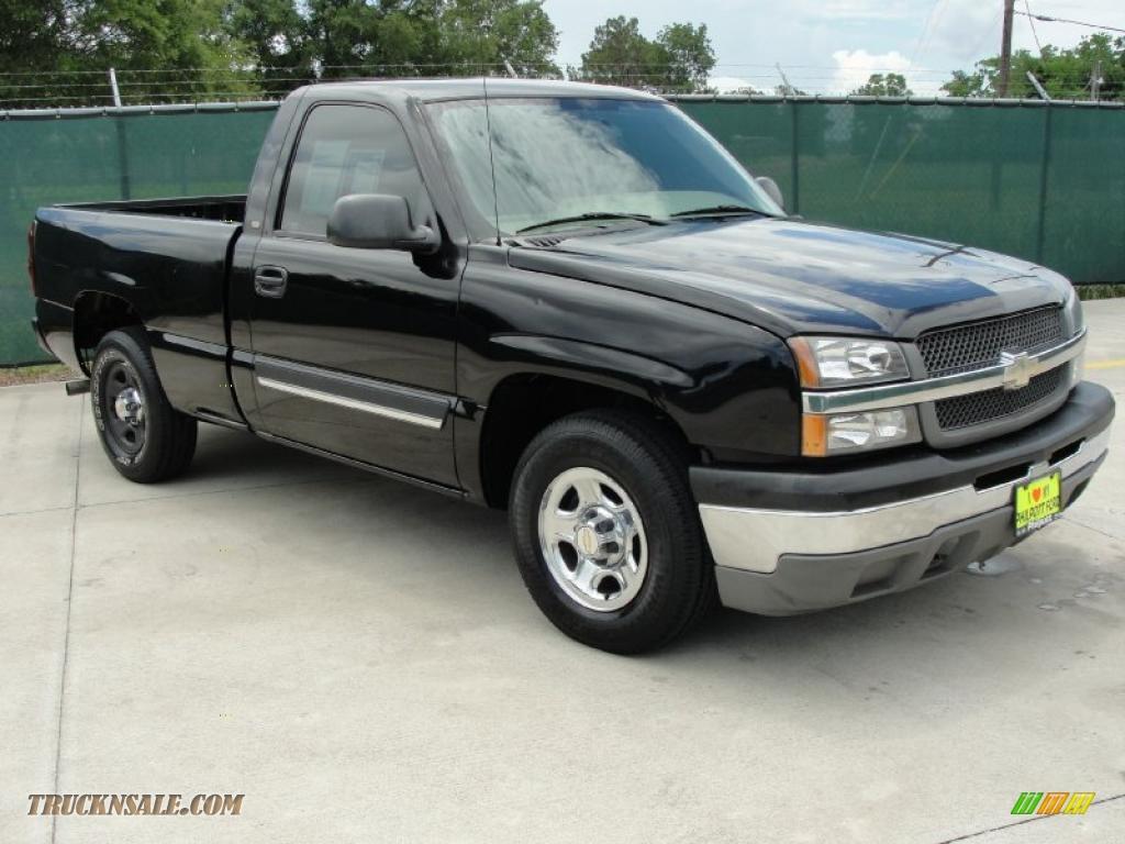 2004 Chevrolet Silverado 1500 Regular Cab >> 2004 Chevrolet Silverado 1500 Regular Cab In Black 207452