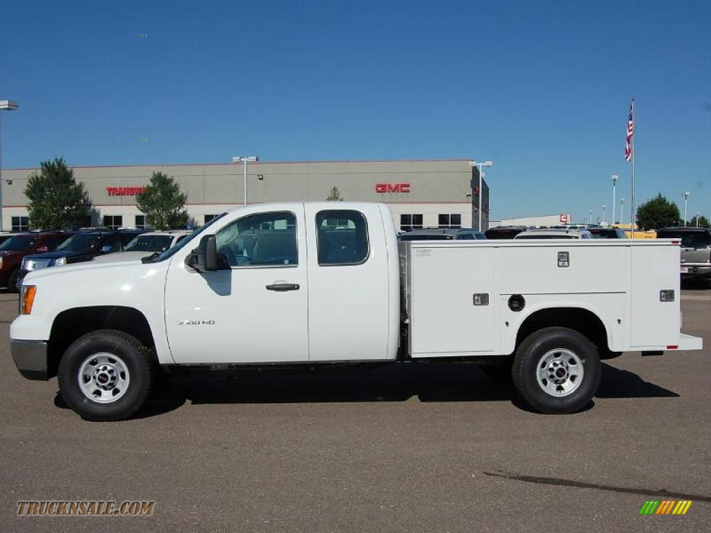 2010 Gmc Sierra 3500hd Work Truck Extended Cab 4x4 Chassis