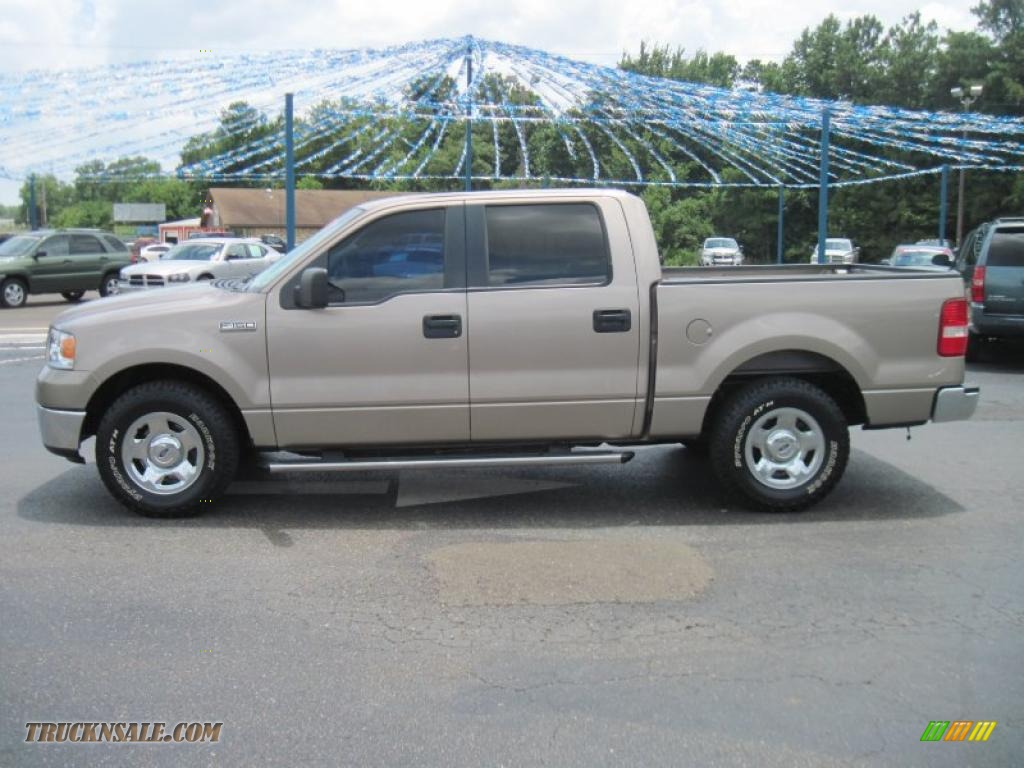 2006 ford f150 xlt supercrew in arizona beige metallic e00063 truck n 39 sale. Black Bedroom Furniture Sets. Home Design Ideas