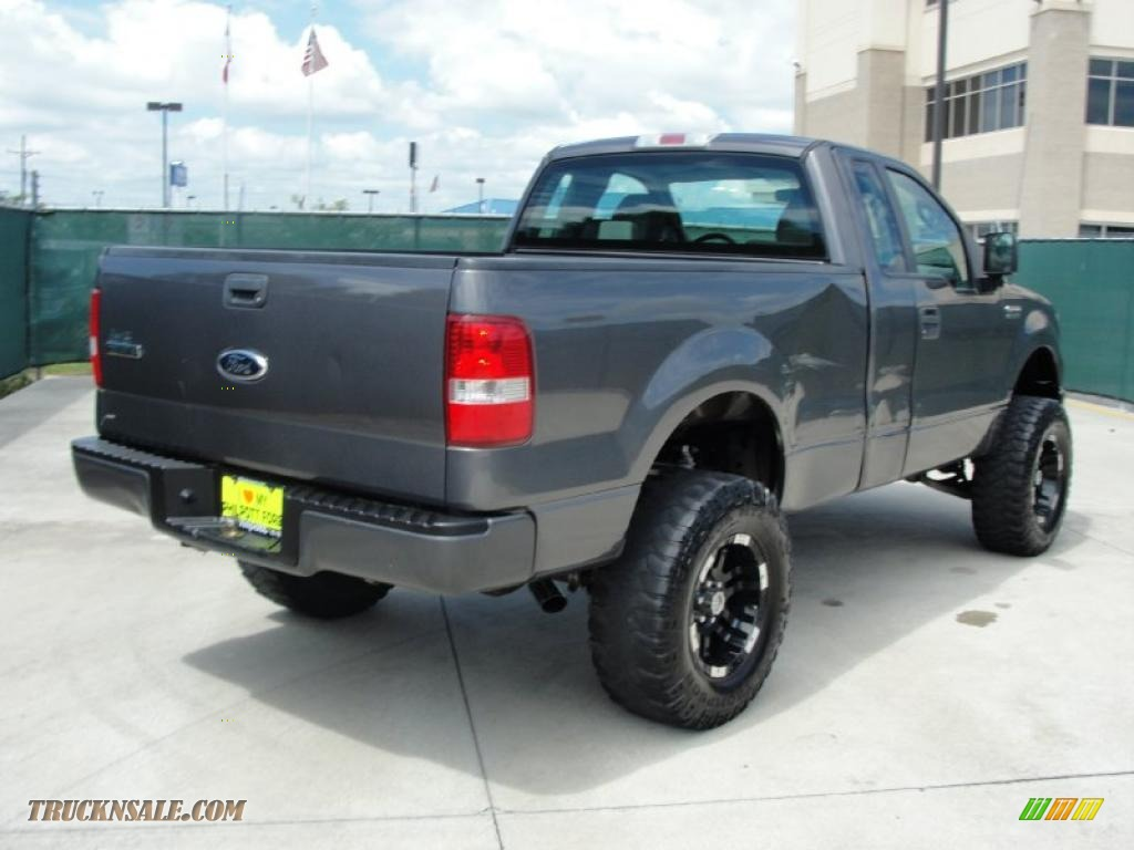 2007 ford f150 xl regular cab in dark shadow grey metallic photo 3 c76128 truck n 39 sale. Black Bedroom Furniture Sets. Home Design Ideas