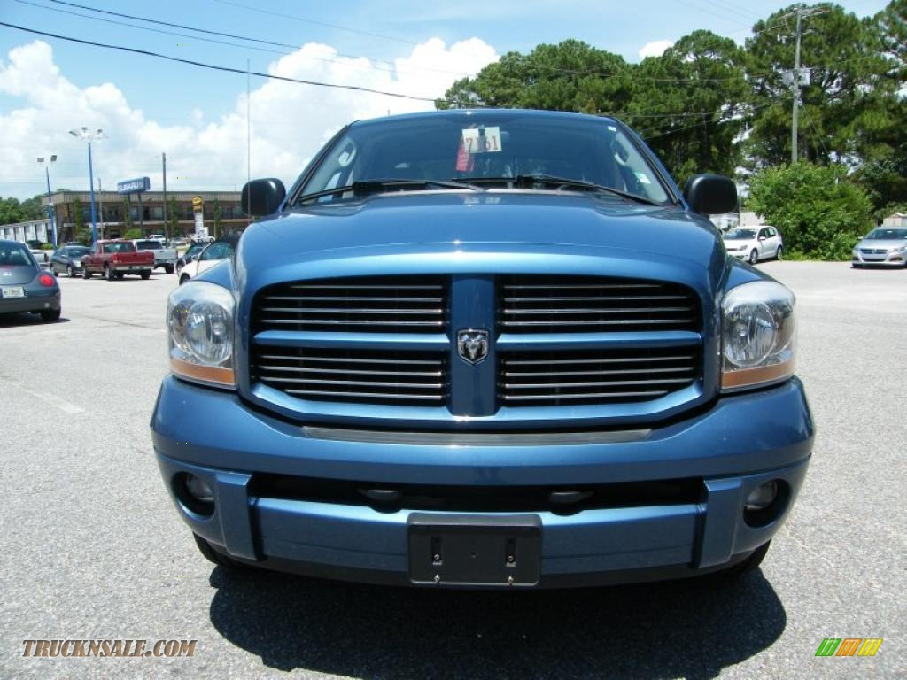 2006 dodge ram 1500 sport quad cab 4x4 in atlantic blue pearl photo 8 556023 truck n 39 sale. Black Bedroom Furniture Sets. Home Design Ideas