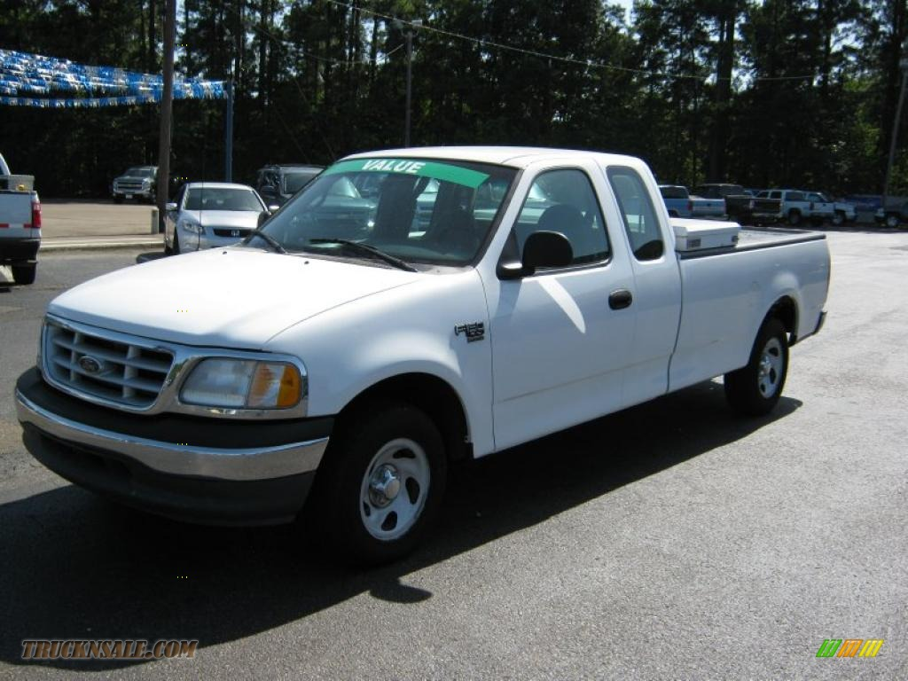 2000 ford f150 xl extended cab in oxford white photo 3 b92448 truck n 39 sale. Black Bedroom Furniture Sets. Home Design Ideas