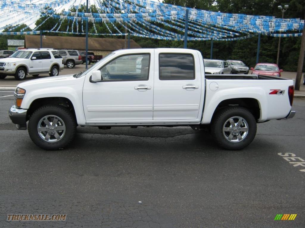 2010 chevrolet colorado lt crew cab 4x4 in summit white 145174 truck n 39 sale. Black Bedroom Furniture Sets. Home Design Ideas