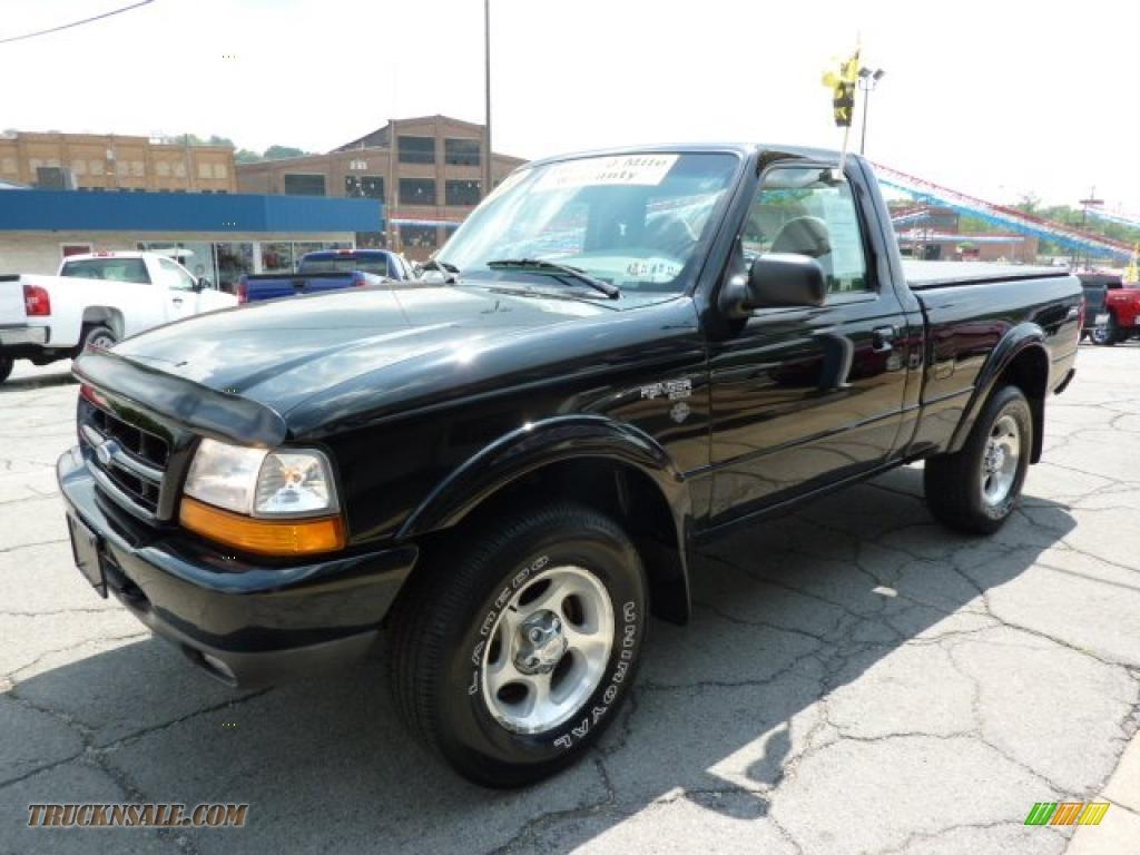 2000 ranger sport regular cab 4x4 black medium graphite photo 5 - 2000 Ford Ranger Black