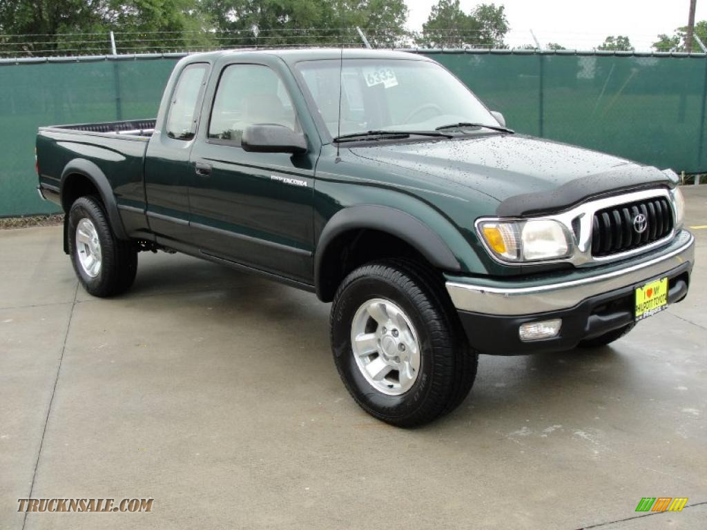 toyota tacoma  xtracab   imperial jade green mica photo   truck  sale