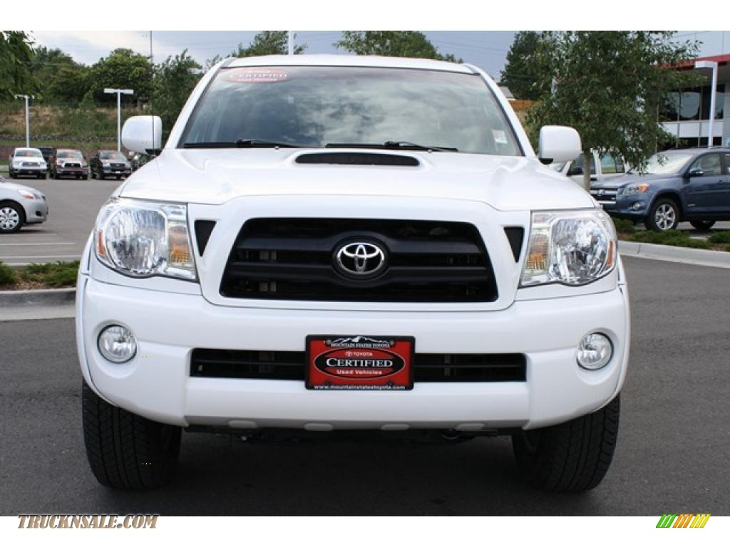 2008 toyota tacoma v6 trd sport double cab 4x4 in super white photo 6 524721 truck n 39 sale. Black Bedroom Furniture Sets. Home Design Ideas