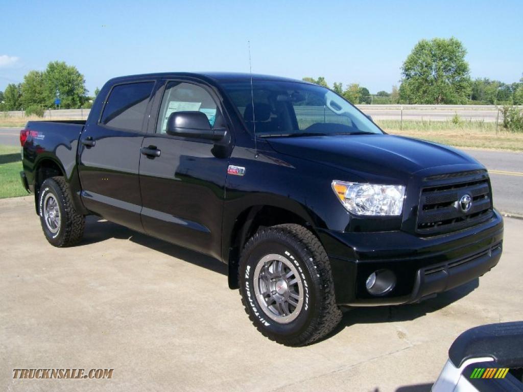 Black / Black Toyota Tundra TRD Rock Warrior CrewMax 4x4