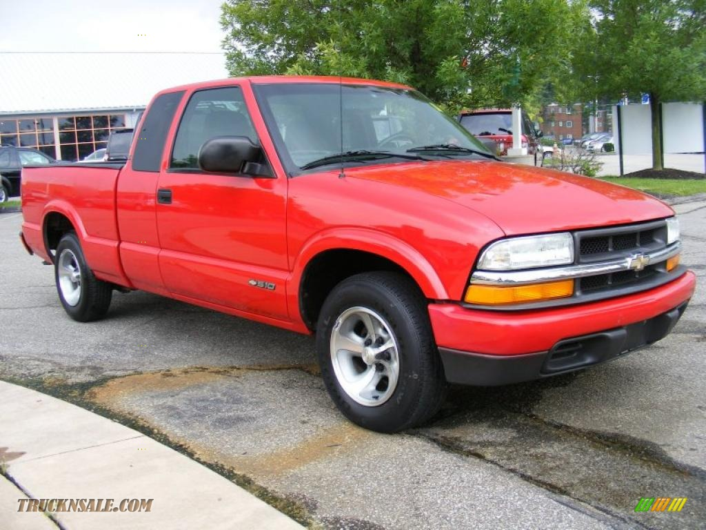 2002 chevrolet s10 ls extended cab in victory red photo 7 108685 truck n 39 sale. Black Bedroom Furniture Sets. Home Design Ideas