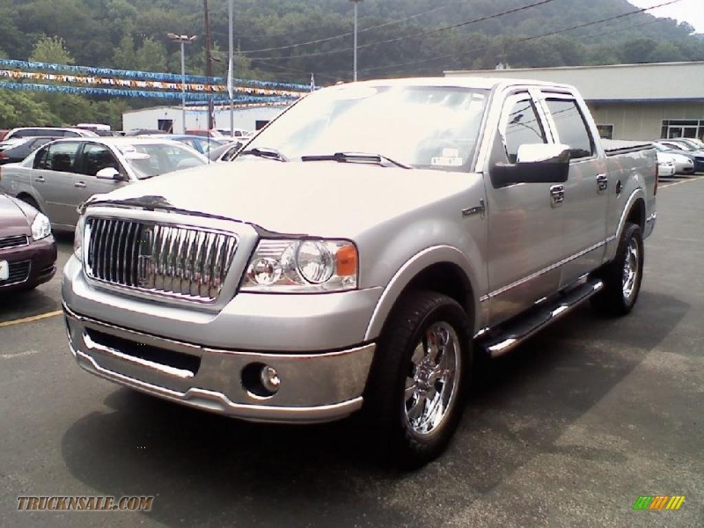 2006 lincoln mark lt supercrew 4x4 in silver metallic photo 2 j17988 truck n 39 sale. Black Bedroom Furniture Sets. Home Design Ideas