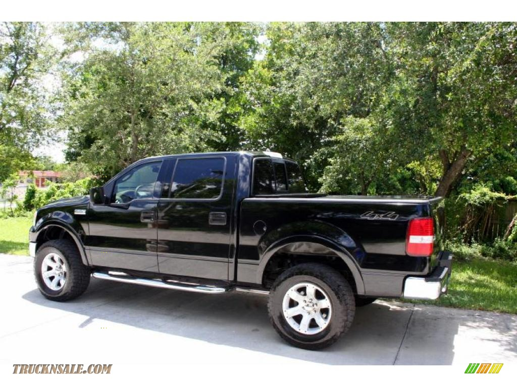 2004 ford f150 lariat supercrew 4x4 in black photo 5. Black Bedroom Furniture Sets. Home Design Ideas