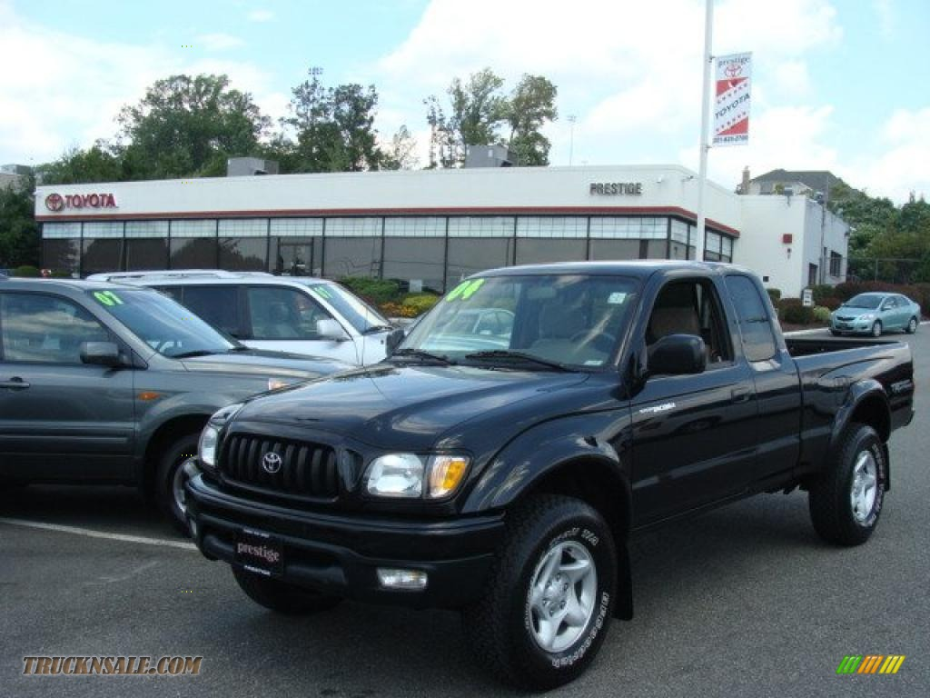 2004 Toyota Tacoma V6 Trd Xtracab 4x4 In Black Sand Pearl