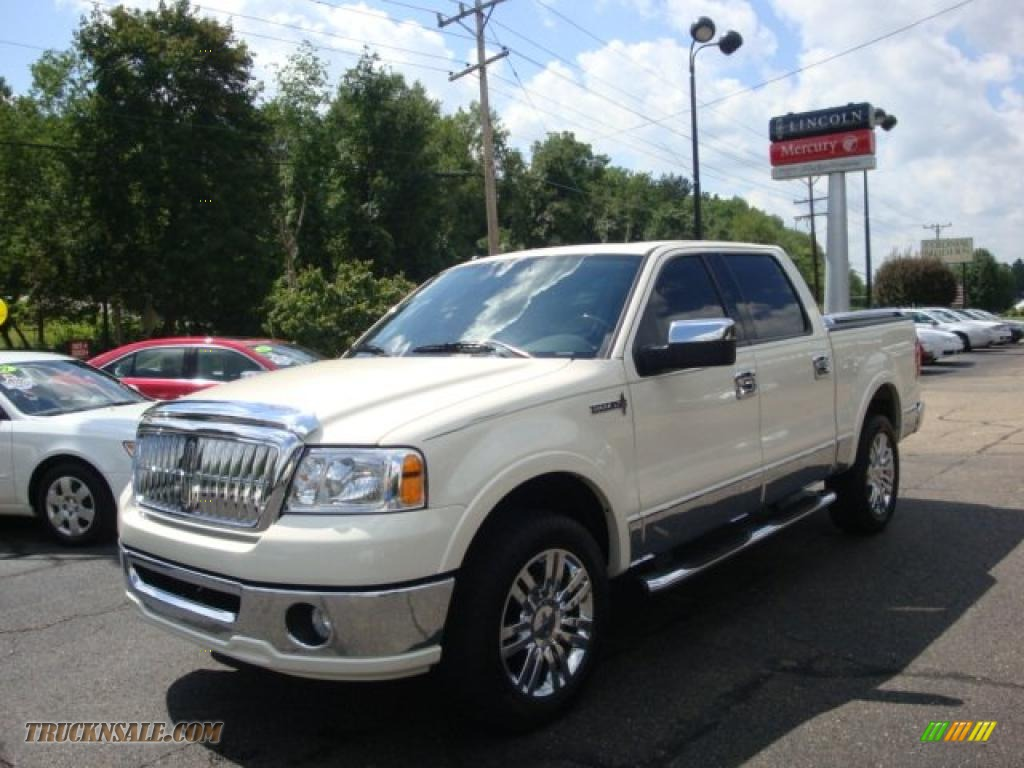 2008 Lincoln Mark Lt Supercrew 4x4 In White Chocolate Tri