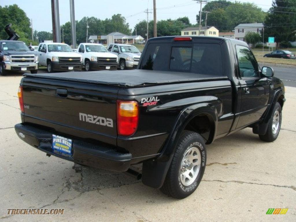 Pine Belt Chevrolet >> 2004 Mazda B-Series Truck B3000 Dual Sport Regular Cab in Mystic Black photo #5 - M09712   Truck ...