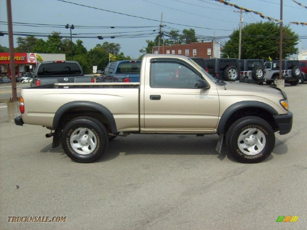 2003 Toyota Tacoma Regular Cab 4x4 In Mystic Gold Metallic