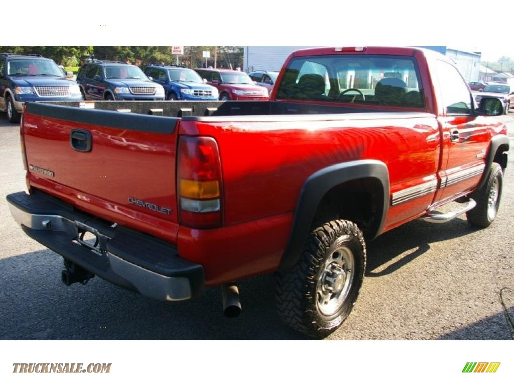 2001 chevrolet silverado 2500hd ls regular cab 4x4 in victory red photo 10 233561 truck n 39 sale. Black Bedroom Furniture Sets. Home Design Ideas