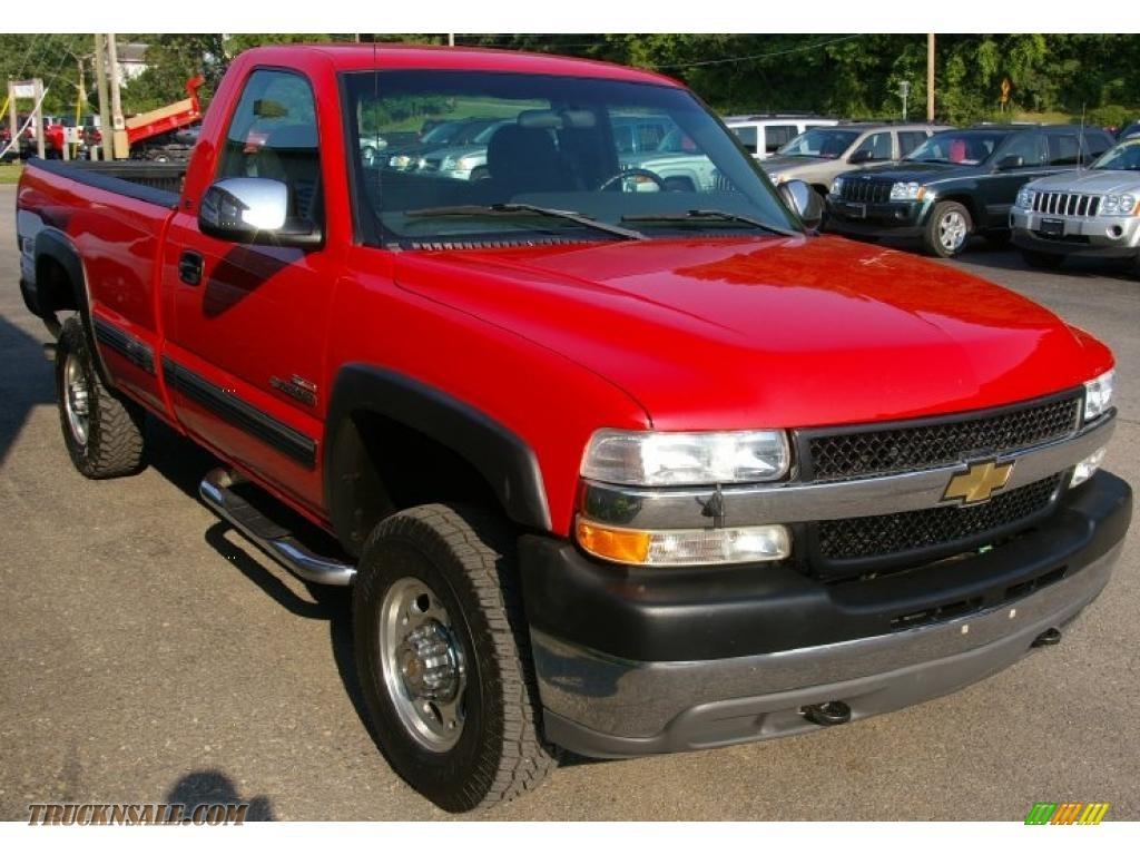 2001 chevrolet silverado 2500hd ls regular cab 4x4 in victory red photo 11 233561 truck n 39 sale. Black Bedroom Furniture Sets. Home Design Ideas