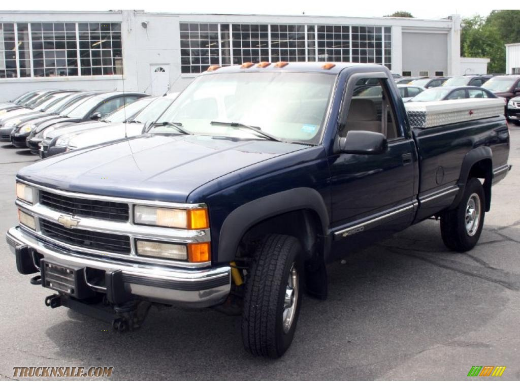 1998 Chevrolet C/K 2500 K2500 Regular Cab 4x4 in Indigo ...