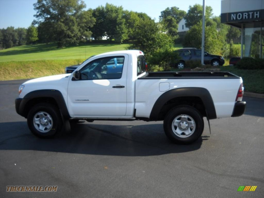 2009 toyota tacoma regular cab 4x4 in super white photo 8 639076 truck n 39 sale. Black Bedroom Furniture Sets. Home Design Ideas