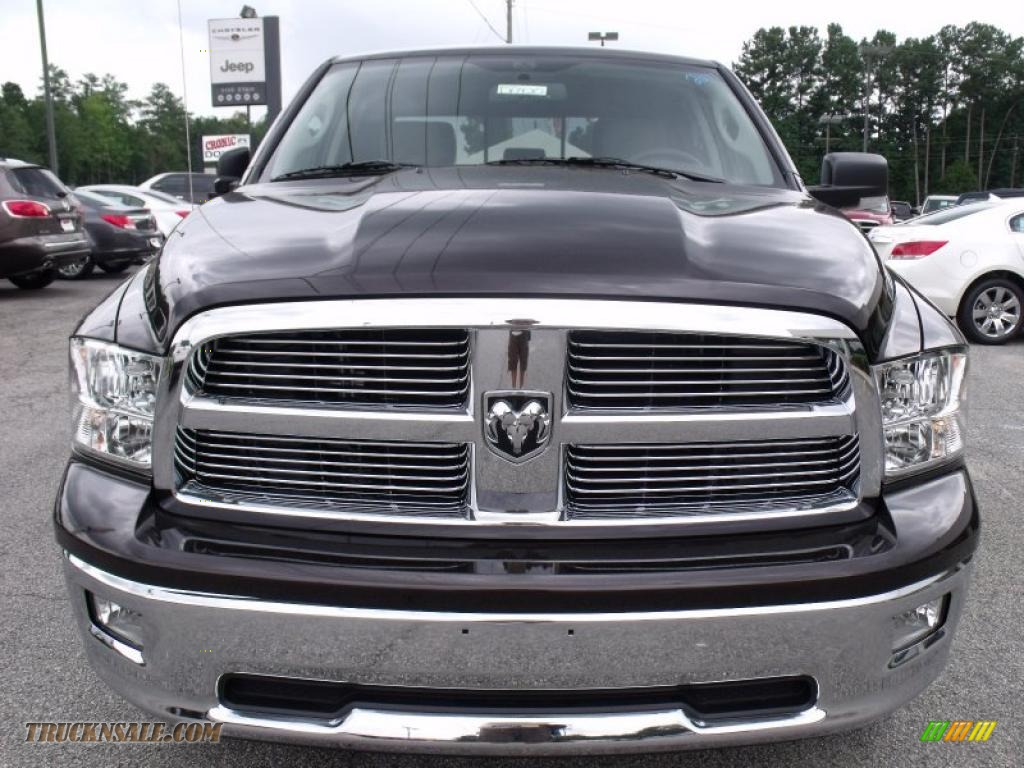 2011 dodge ram 1500 big horn crew cab in rugged brown pearl photo 3 500475 truck n 39 sale. Black Bedroom Furniture Sets. Home Design Ideas