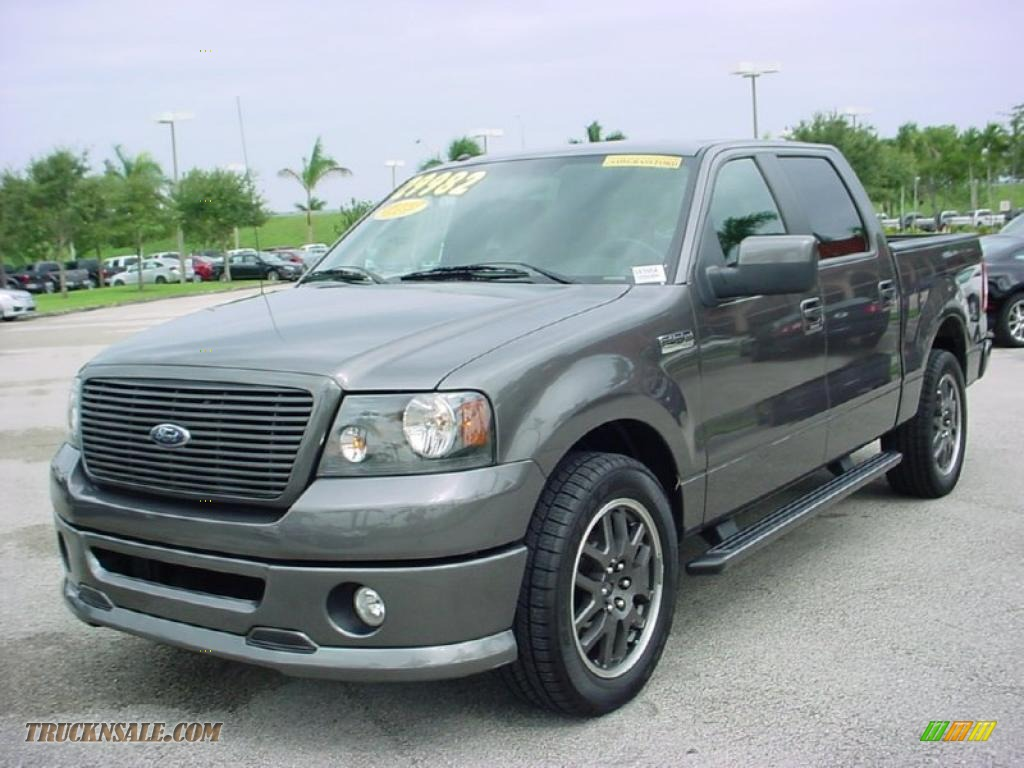 2008 ford f150 fx2 sport supercrew in dark shadow grey metallic photo 14 d53723 truck n 39 sale. Black Bedroom Furniture Sets. Home Design Ideas