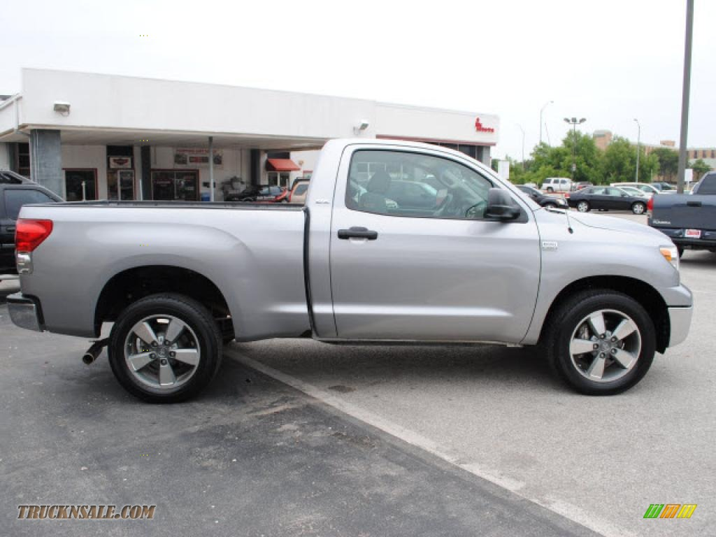 2007 toyota tundra sr5 regular cab in silver sky metallic photo 4 001553 truck n 39 sale. Black Bedroom Furniture Sets. Home Design Ideas
