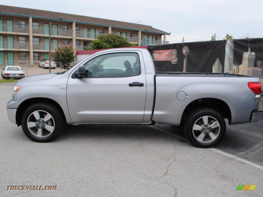 2007 toyota tundra sr5 regular cab in silver sky metallic. Black Bedroom Furniture Sets. Home Design Ideas