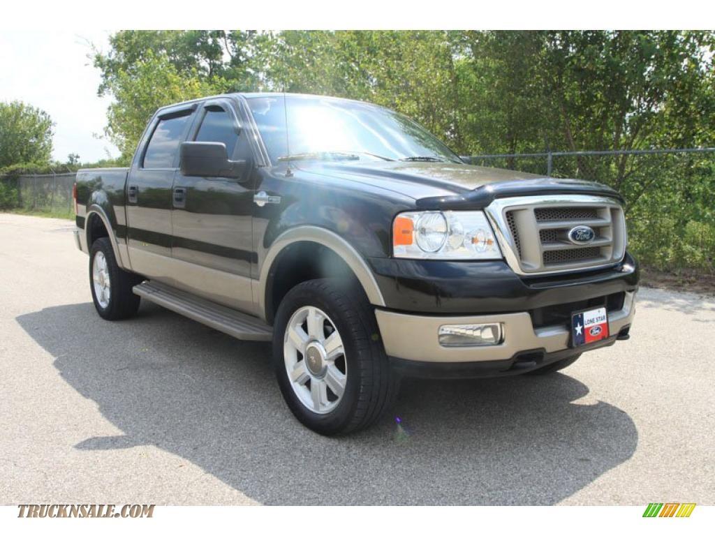 2005 ford f150 king ranch supercrew 4x4 in dark stone metallic d57842 truck n 39 sale. Black Bedroom Furniture Sets. Home Design Ideas