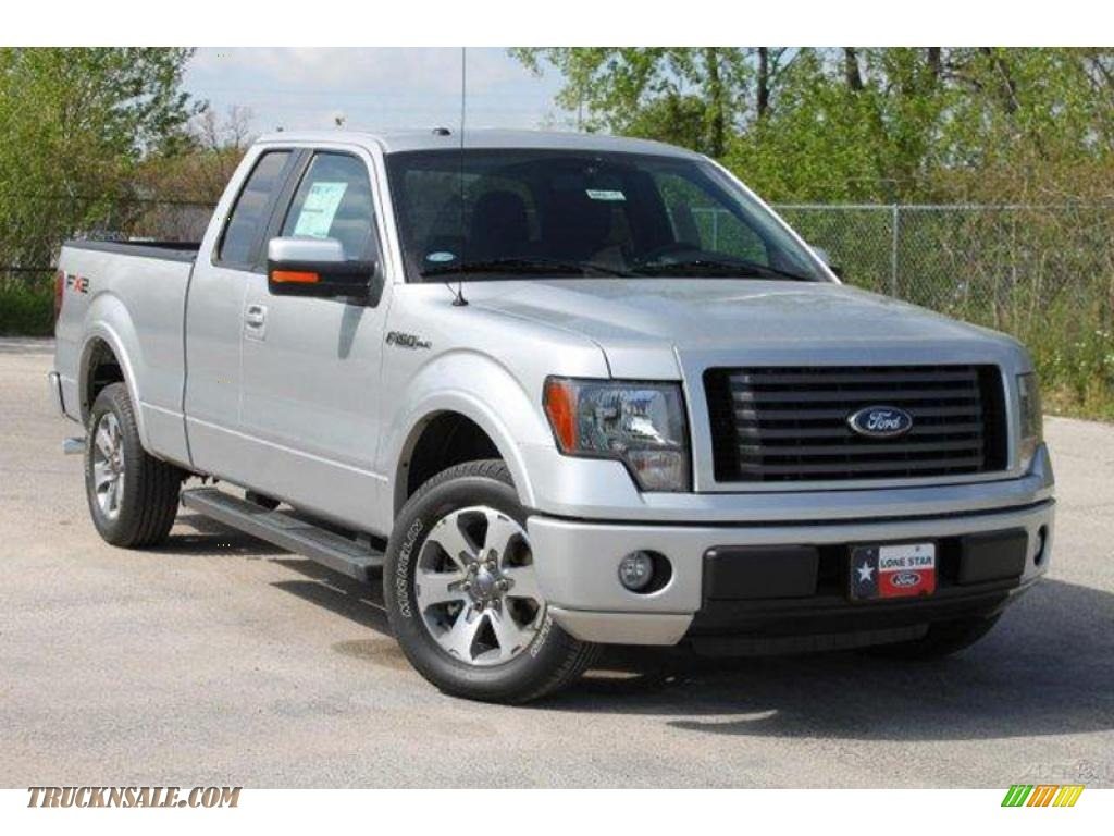 2010 ford f150 fx2 supercab in ingot silver metallic b98537 truck n 39 sale. Black Bedroom Furniture Sets. Home Design Ideas