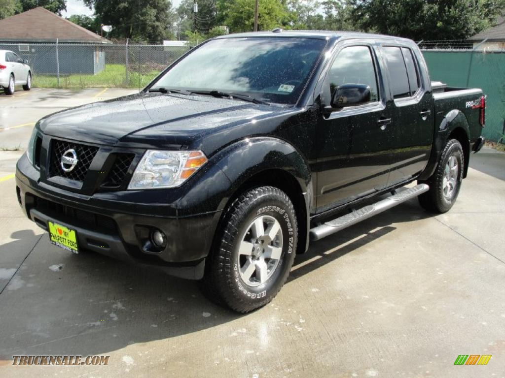 2009 nissan frontier pro 4x crew cab 4x4 in super black photo 7 418001 truck n 39 sale. Black Bedroom Furniture Sets. Home Design Ideas