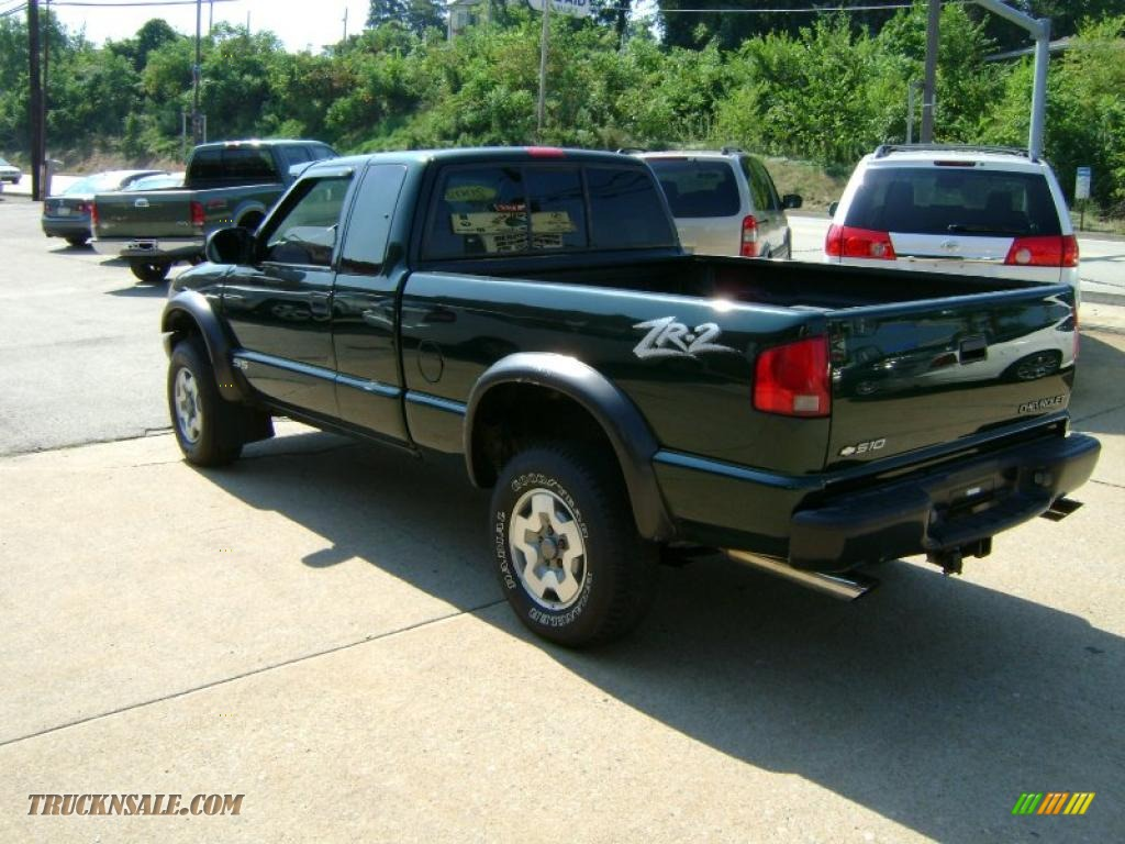 2002 chevrolet s10 zr2 extended cab 4x4 in forest green metallic photo 7 198790 truck n 39 sale. Black Bedroom Furniture Sets. Home Design Ideas