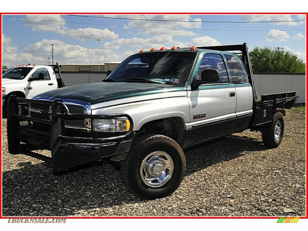 1998 dodge ram 2500 laramie extended cab 4x4 in deep hunter green pearl 150476 truck n 39 sale. Black Bedroom Furniture Sets. Home Design Ideas