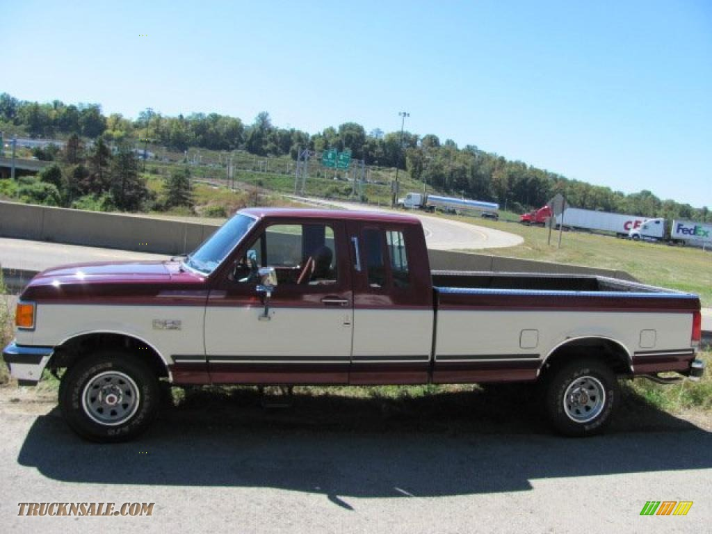 1990 ford f150 xlt lariat extended cab in medium cabernet photo 2 a95731 truck n 39 sale. Black Bedroom Furniture Sets. Home Design Ideas
