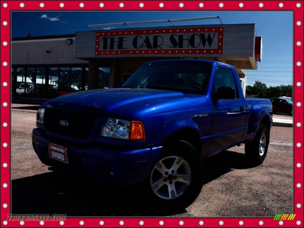 2003 Ford Ranger Edge Regular Cab In Sonic Blue Metallic