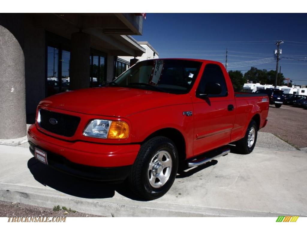 2004 ford f150 stx heritage regular cab in bright red. Black Bedroom Furniture Sets. Home Design Ideas