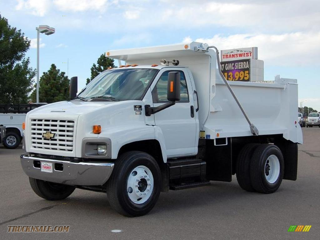 C7500 Dump Truck 2002 Gmc Wiring Harness Series Kodiak Regular Cab Summit White Gray Photo 1024x768