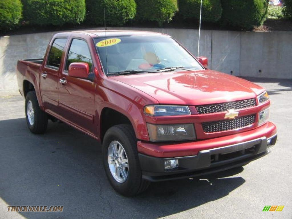 2010 chevrolet colorado lt crew cab 4x4 in cardinal red for University motors morgantown west virginia