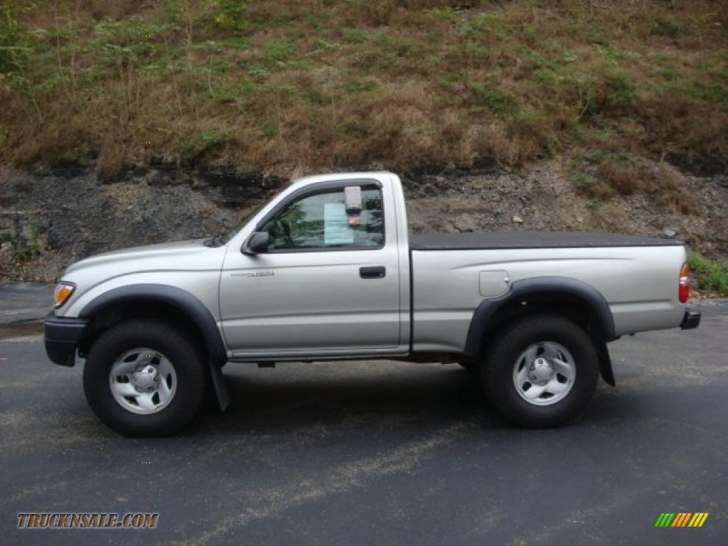 2004 toyota tacoma regular cab 4x4 in lunar mist metallic 320746 truck n 39 sale. Black Bedroom Furniture Sets. Home Design Ideas