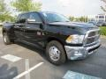 Dodge Ram 3500 HD Big Horn Mega Cab Dually Brilliant Black Crystal Pearl photo #4