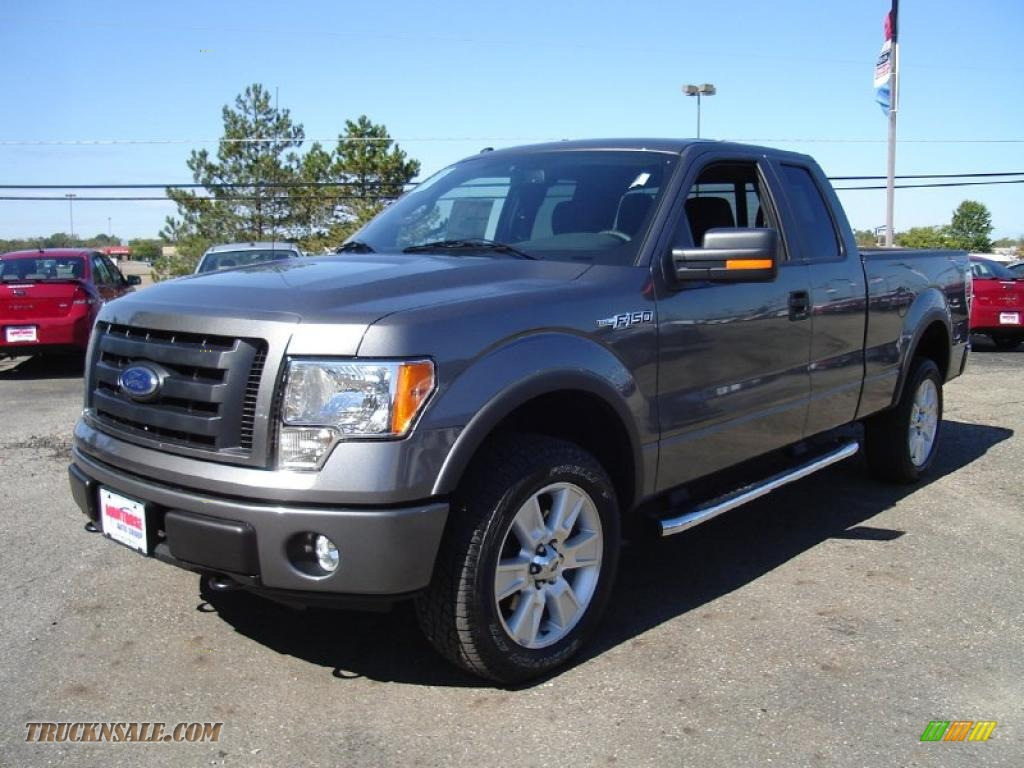 2010 ford f150 fx4 supercab 4x4 in sterling grey metallic photo 10 d23774. Cars Review. Best American Auto & Cars Review