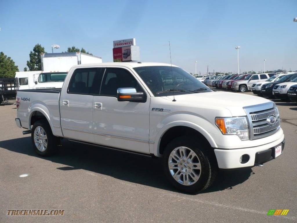 Ford F 150 Platinum For Sale >> 2009 Ford F150 Platinum SuperCrew 4x4 in White Sand Tri ...