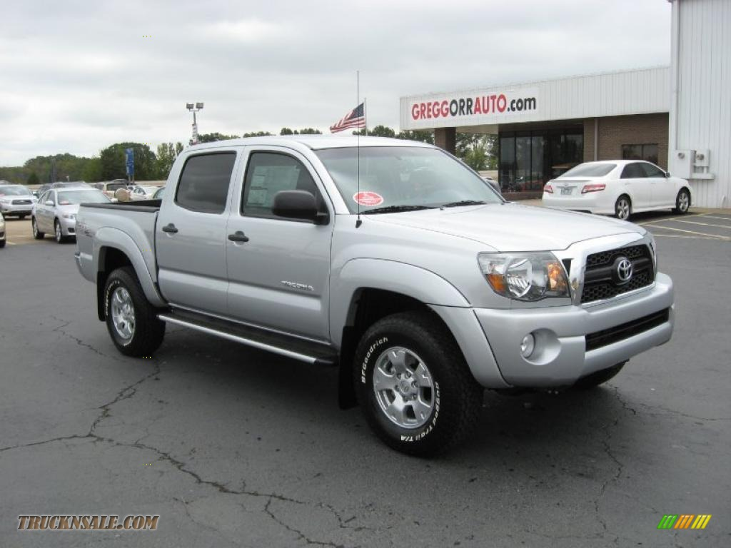 2011 Toyota Tacoma Trd Prerunner Double Cab In Silver