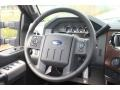 Ford F450 Super Duty Lariat Crew Cab 4x4 Dually Tuxedo Black Metallic photo #28