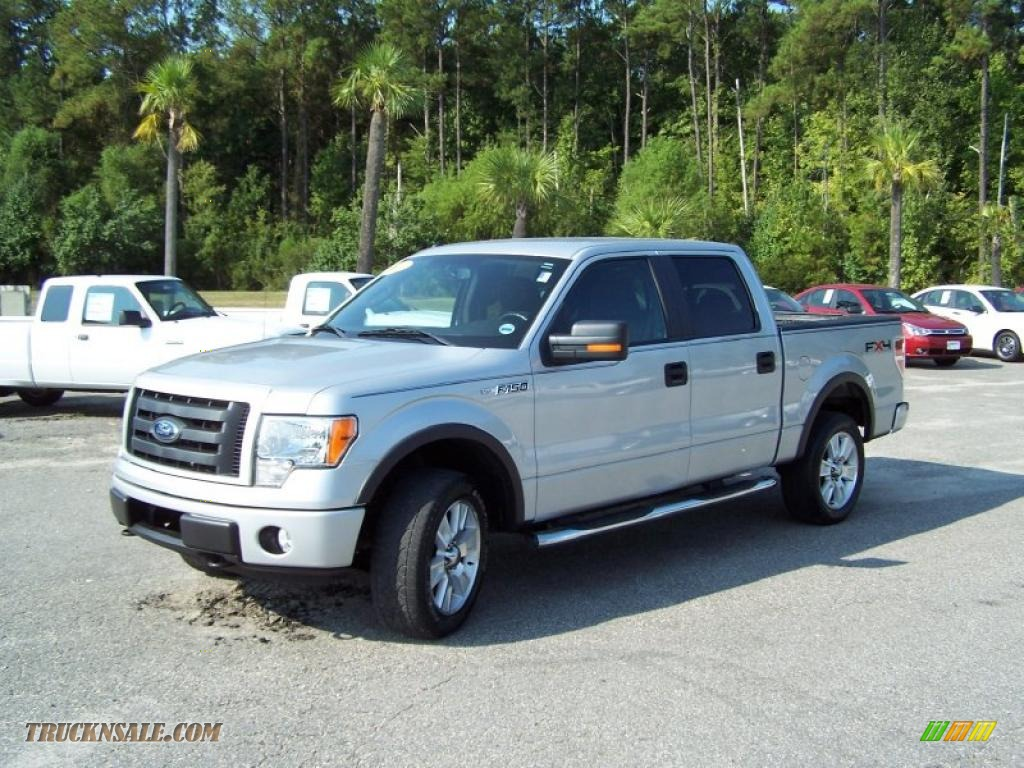 2009 ford f150 fx4 supercrew 4x4 in brilliant silver. Black Bedroom Furniture Sets. Home Design Ideas