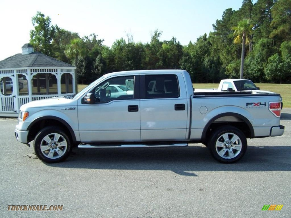 2009 ford f150 fx4 supercrew 4x4 in brilliant silver metallic photo 8 a797. Cars Review. Best American Auto & Cars Review