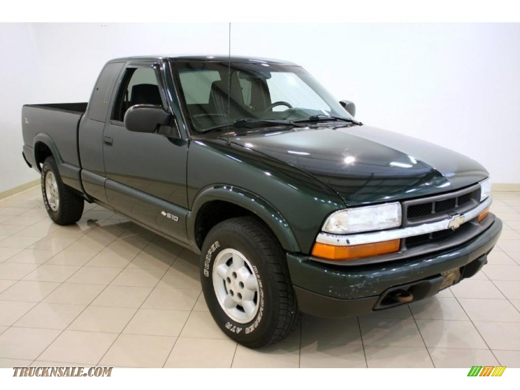 2002 chevrolet s10 ls extended cab 4x4 in forest green metallic 118899 truck n 39 sale. Black Bedroom Furniture Sets. Home Design Ideas