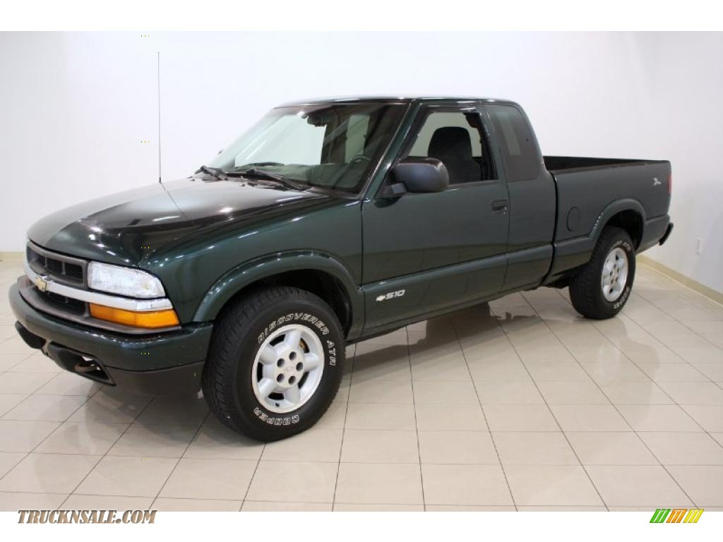 Green Cab Madison >> 2002 Chevrolet S10 LS Extended Cab 4x4 in Forest Green Metallic photo #3 - 118899 | Truck N' Sale