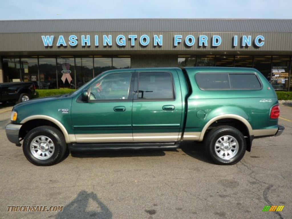 2001 ford f150 xlt supercrew 4x4 in amazon green metallic d84069. Cars Review. Best American Auto & Cars Review