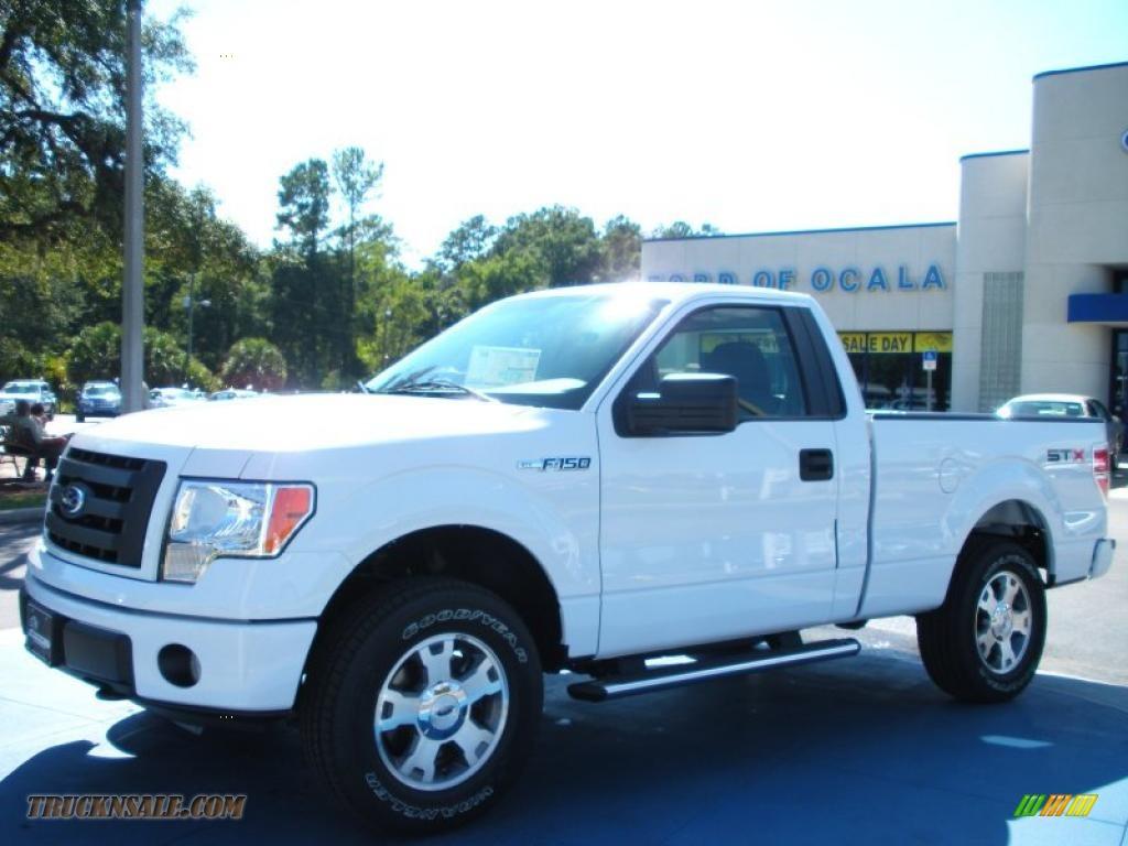 2010 ford f150 stx regular cab 4x4 in oxford white d51310 truck n 39 sale. Black Bedroom Furniture Sets. Home Design Ideas