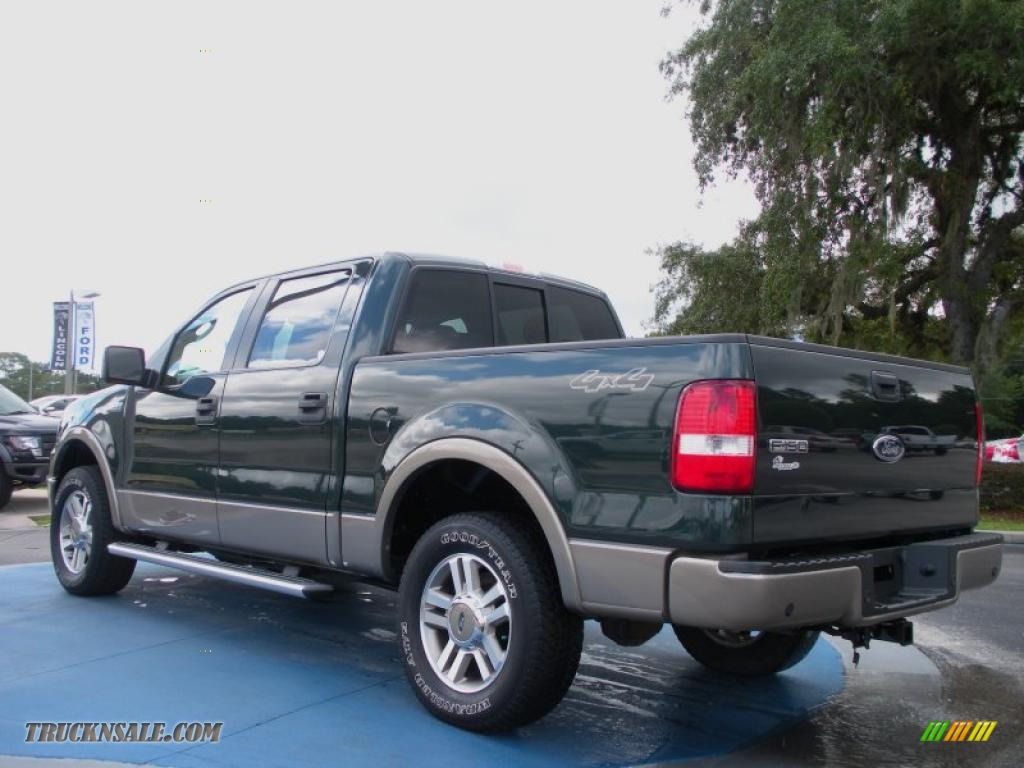 2005 ford f150 lariat supercrew 4x4 in aspen green. Black Bedroom Furniture Sets. Home Design Ideas